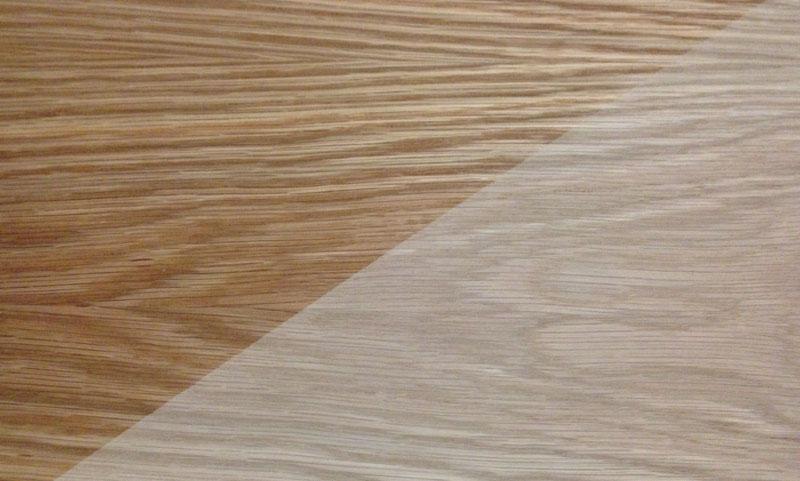 High Quality Veneered Birch Plywood Crown Cut Oak A B