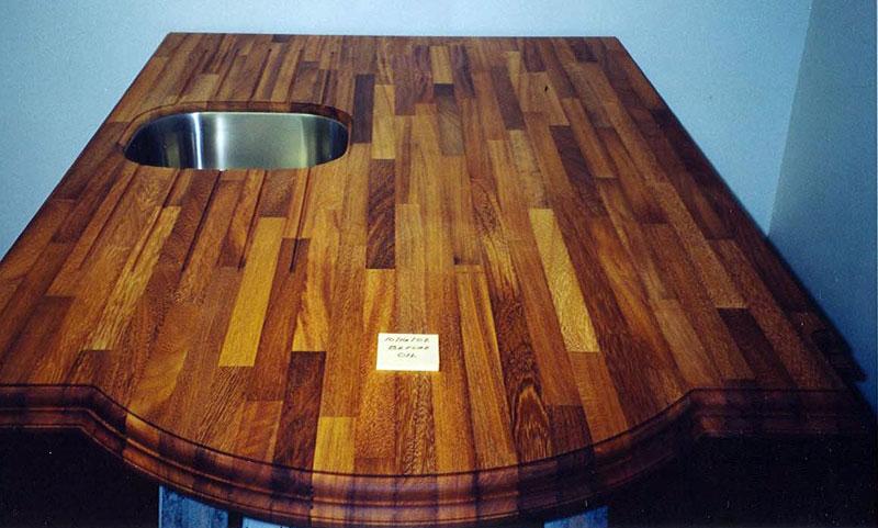 Solid Wood Worktops Iroko